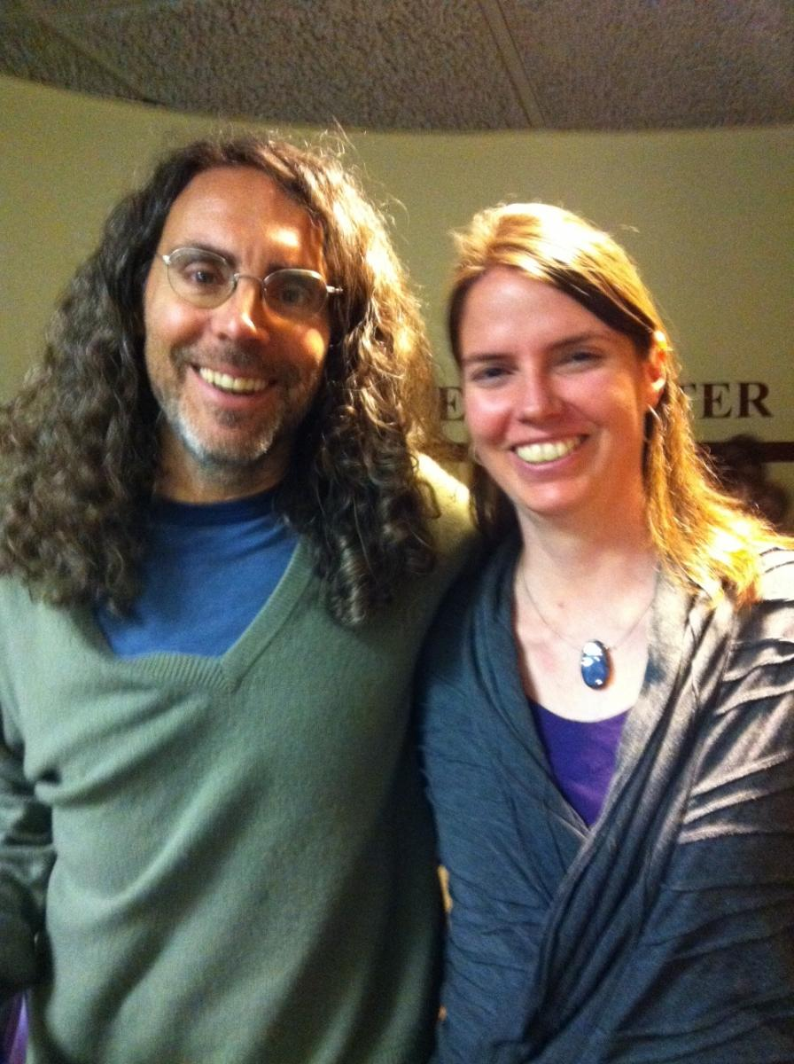 Tom Shadyac and Sylvia Johnson
