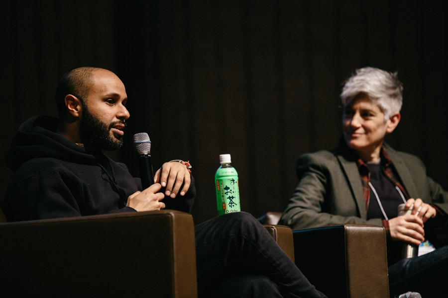 Kunal Gupta and Colleen Macklin