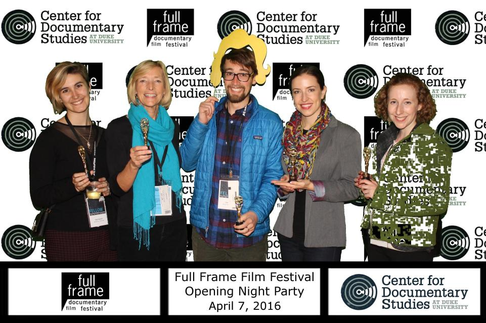 Fun photo at the Opening Night Party…
