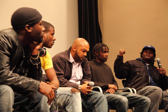 Panelists at Interrupters Screening