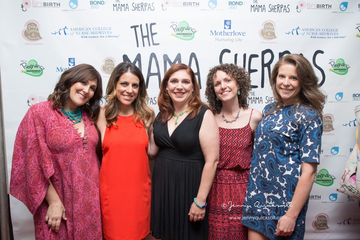 From left: Executive Producers Ricki Lake and Abby Epstein; Director/Producer Brigid Maher; Co-Producer Kari Barber and Associate Producer Kelsey Marsh. Photo taken by: Jenny Quicksall Photography