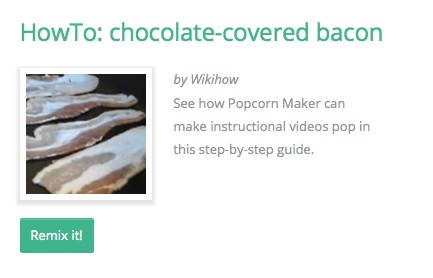 HowTo: chocolate-covered bacon