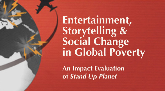Entertainment, Storytelling & Social Change in Global Poverty