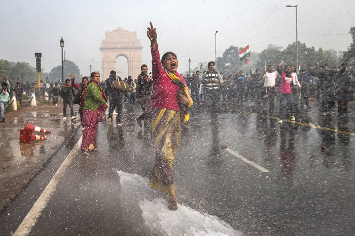 After Jyoti Singh was attacked, Indians took to the streets in protest. Photo Credit: India's Daughter official website